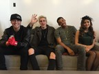 Influential's social media stars Wes Stromberg, Sammy Wilkinson, Melvin Gregg, and Megan Nicole at Facebook HQ in NYC for #TreatmentForAll launch.
