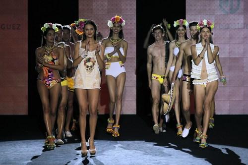 Cabildo (Government of Gran Canaria) supports the internationalization of Gran Canaria firms in Swimwear Fashion Week (PRNewsFoto/El Cabildo)