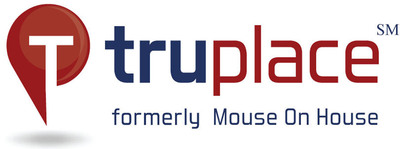 TruPlace, formerly Mouse On House, continues expansion into new Real Estate markets. For more information, visit www.TruPlace.com.  (PRNewsFoto/TruPlace Inc.)