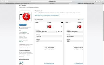 Factor4 Apple App Screenshot