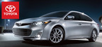 The new 2014 Toyota Avalon in Milwaukee, WI brings plenty of choices to the table. (PRNewsFoto/Don Jacobs Toyota)
