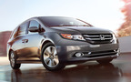 The 2014 Honda Odyssey is the only minivan to have received the coveted Top Safety Pick+ from the IIHS. (PRNewsFoto/Benson Honda)