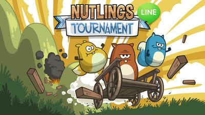 Nutlings Tournament.  (PRNewsFoto/LINE Corporation)