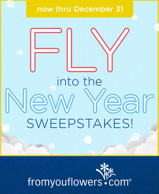 From You Flowers Celebrates 2015 with the Fly into the New Year Sweepstakes