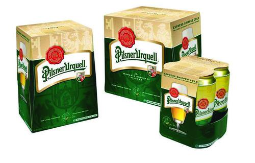 Pilsner Urquell Express Shipped Cold Packaging.  (PRNewsFoto/Pilsner Urquell)