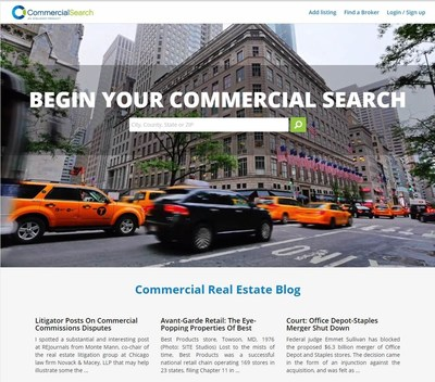 The all new CommercialSearch.com