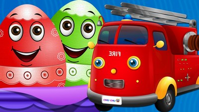 ChuChu TV Surprise teaches colors,numbers,alphabets,vehicles and more for toddlers in a fun way.