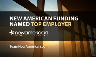 NMP Recognizes New American Funding as a Top Mortgage Employer