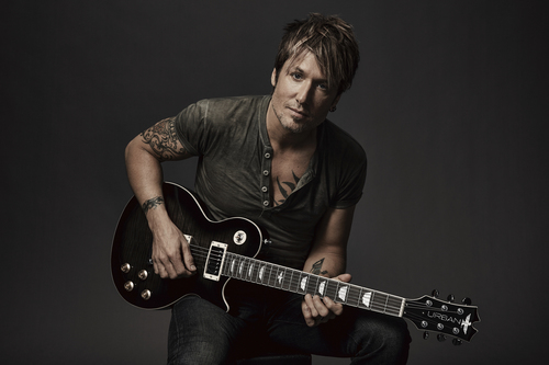 Keith Urban Returns to HSN with Limited Edition 'Light The Fuse' Guitar Collection on HSN May 18th (PRNewsFoto/HSN)