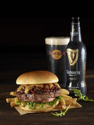 GUINNESS(R) & Jameson(R) Bacon Cheeseburger. Credit: Hard Rock International