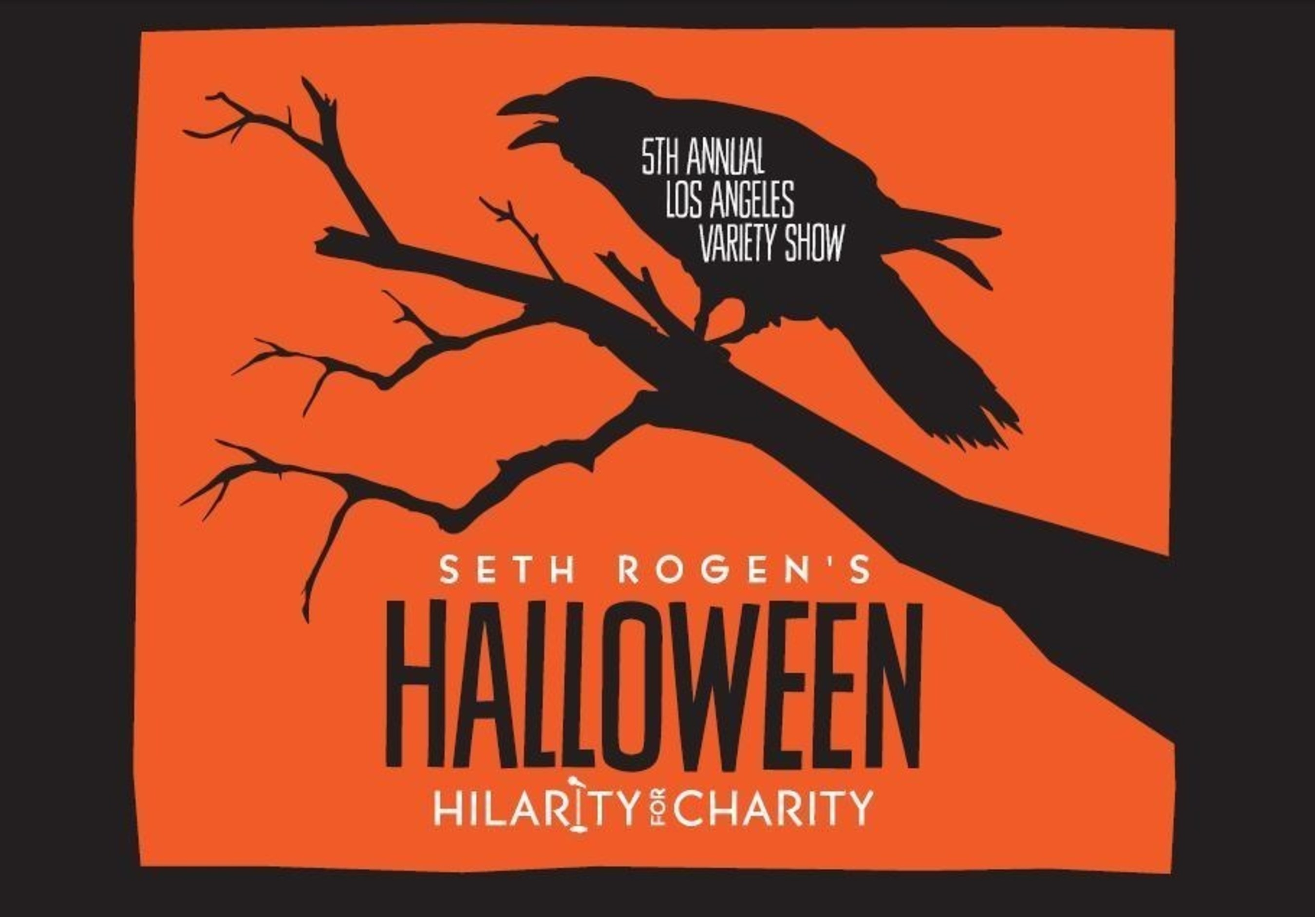 Hilarity for Charity Raises $1.6 Million At 5th Annual Los Angeles Variety Show: Seth Rogen's Halloween