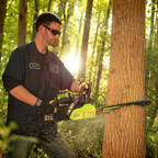 "GreenWorks Pro delivers gas-comparable power and performance without the high cost of gas and oil, which means no more tune-ups, maintenance or emissions. The 80V Chain Saw is an industry-leading 18"" bar and chain; delivers 2.7hp, equivalent to a 42cc gas-powered saw; digital controlled brushless motor for more torque; electronic chain brake for safe operation.  Minimal vibration and noise."