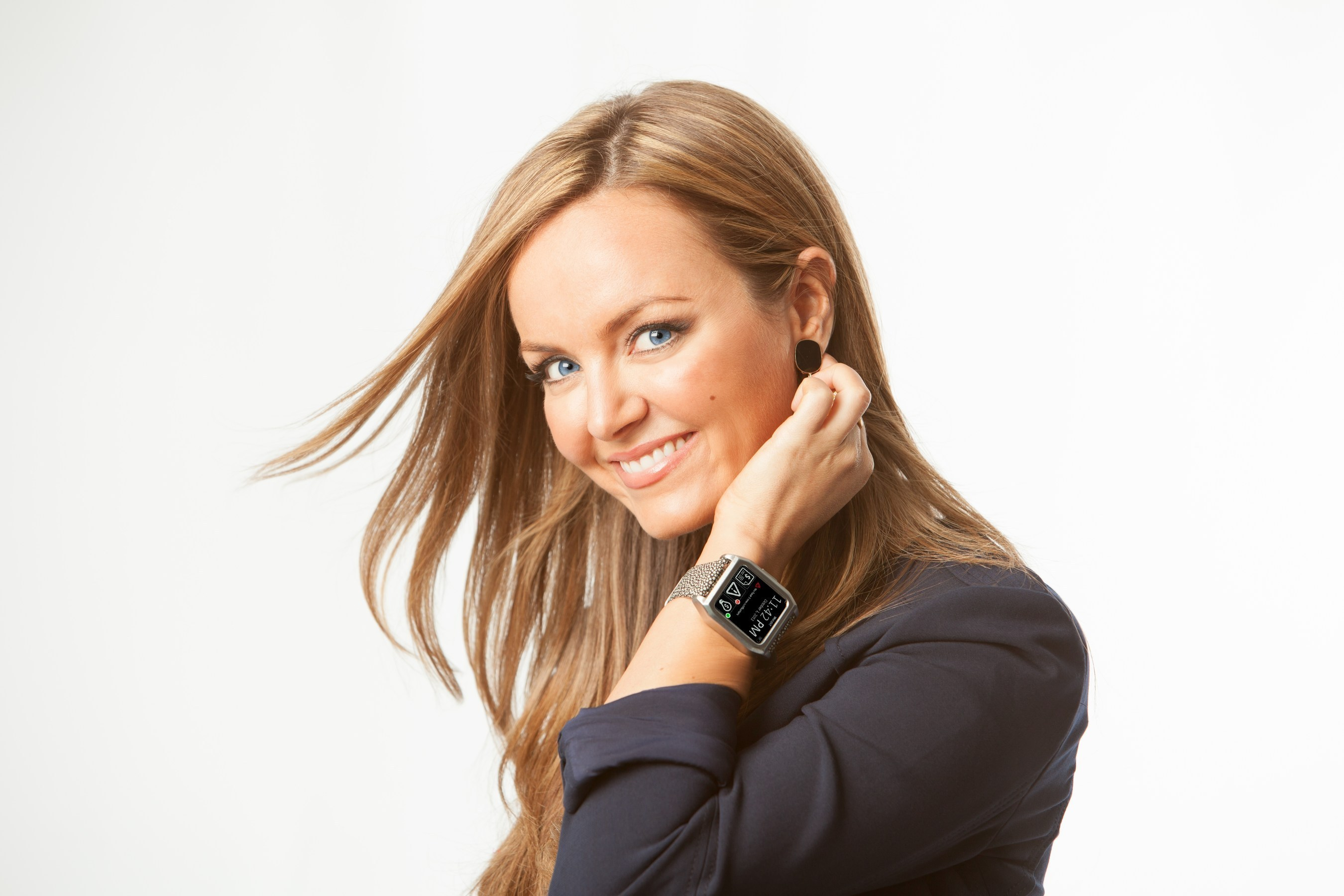 Financial expert and TV news personality Nicole Lapin founder of CASH Smartwatch.