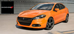 The 2014 Dodge Dart brings a distinct look to the midsize sedan segment without sacrificing fuel economy. (PRNewsFoto/South Oak Dodge)