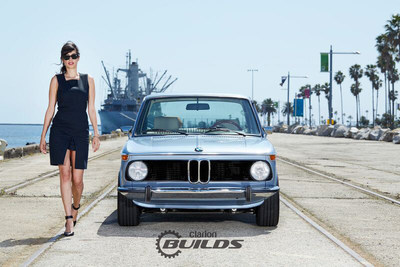 Clarion Builds 1974 BMW 2002 Restomod