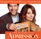 ADMISSION Original Motion Picture Soundtrack Album Releases Today.  (PRNewsFoto/Back Lot Music)