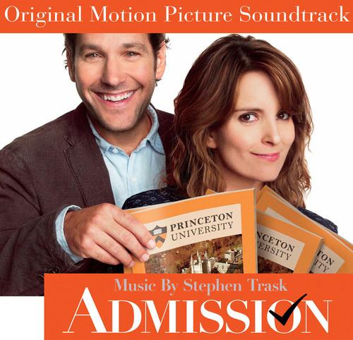 ADMISSION Original Motion Picture Soundtrack Album Releases Today.  (PRNewsFoto/Back Lot Music)