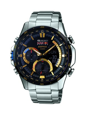 Casio's EDIFICE ERA300RB-1A is the latest limited edition Infiniti Red Bull Racing timepiece.