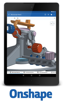 Full-cloud Onshape is the first and only professional 3D CAD system to run on Android phones and tablets. For the first time, engineers and designers are no longer restricted to one primary workstation, as their data is now readily available on any device. In addition to Android, Onshape also runs on iPhones and iPads - and in a web browser on Mac, Windows, and Linux.