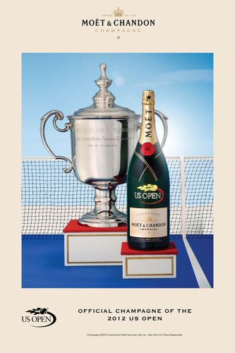 Moet & Chandon Returns to the US Open to Celebrate Tennis as the Official Champagne for the Second