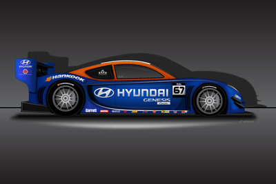 HYUNDAI AND RHYS MILLEN RACING RENEW PIKES PEAK HILL CLIMB MOTORSPORTS PARTNERSHIP TO DEFEND 2012 WORLD RECORD.  (PRNewsFoto/Hyundai Motor America)