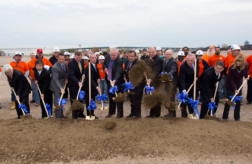 Governor Christie and Mayor McCormac Highlight CPV Woodbridge Energy Center Groundbreaking. ...