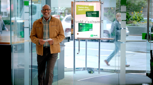 TD Bank Ad- Bank Human Again.  (PRNewsFoto/TD Bank)