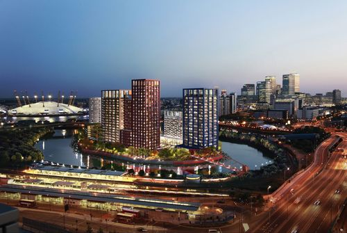 Ballymore to establish Joint Venture for major £2bn London residential development portfolio: London City Island (pictured) is one of three large-scale, waterside residential developments in London included in the portfolio. (PRNewsFoto/Ballymore Group)