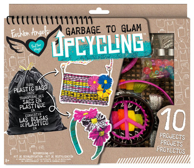 Garbage To Glam Upcycling features four unique kits.