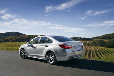 2015 Subaru Legacy and Outback Vehicles Earn 2014 IIHS TOP SAFETY PICK (PRNewsFoto/Subaru of America, Inc.)