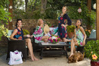 Après-Swim lifestyle photo featuring the Cover Up Dresses, Submarine Tote and oversized beach towel