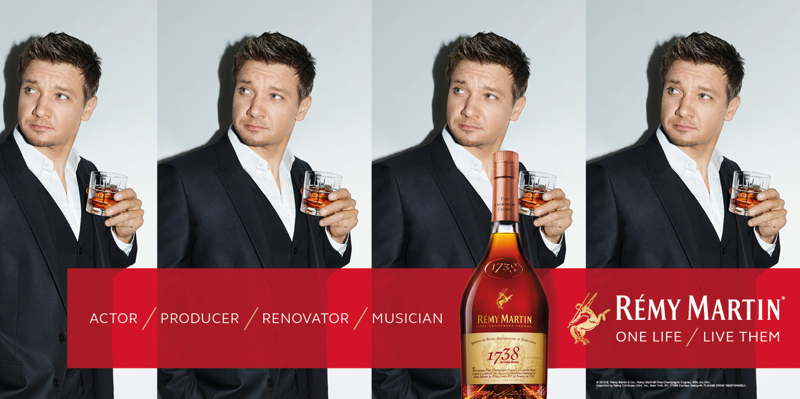 Remy Martin' Launches New Brand Campaign Featuring Actor Jeremy Renner