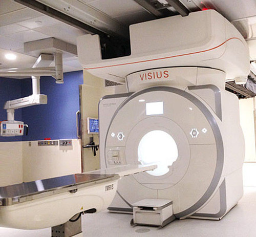 IMRIS has received Health Canada licensing to use the latest generation MRI technology within the VISIUS Surgical Theatre in Canada. (PRNewsFoto/IMRIS Inc.)