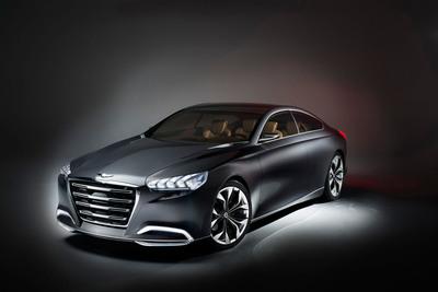 Hyundai's Premium Segment Success Sets The Stage For Next-Generation HCD-14 Genesis Reveal At The North American International Auto Show.  (PRNewsFoto/Hyundai Motor America)
