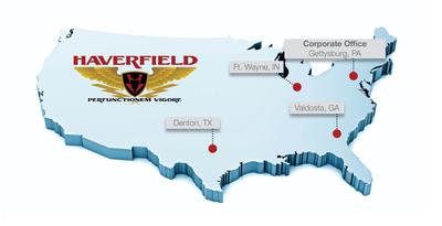 Haverfield Aviation Base Map.  (PRNewsFoto/Haverfield Aviation, Inc.)