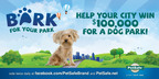 "City officials and dog lovers have two weeks left to nominate their towns to compete in the third-annual PetSafe ""Bark for Your Park"" contest, which awards a total of $200,000 in funding for U.S. cities to build local off-leash dog parks. Nominate at www.petsafe.net.(PRNewsFoto/PetSafe)"