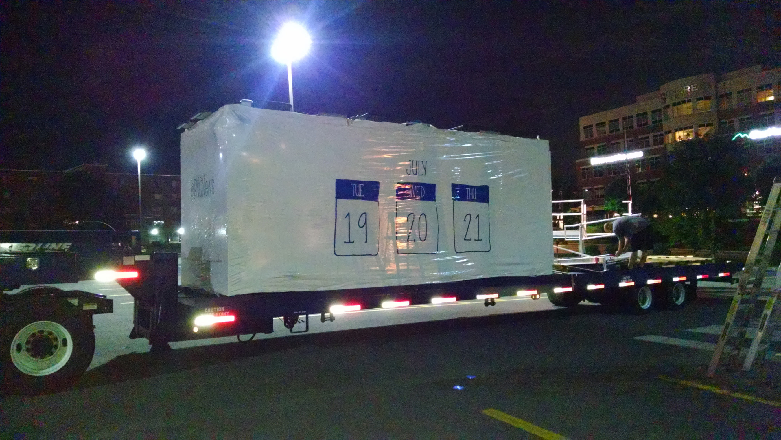 """PNC Bank """"Tiny Branch"""" Arrives in Morgantown, WV"""