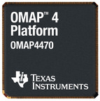 TEXAS INSTRUMENTS INCORPORATED OMAP4470  TI announces its newest mobile apps processor, the OMAP4470.  (PRNewsFoto/Texas Instruments Incorporated) TAIPEI, TAIWAN