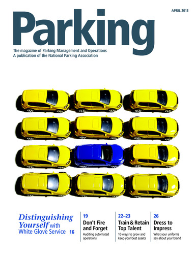 Parking Magazine.  (PRNewsFoto/National Parking Association)
