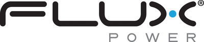 Flux Logo.  (PRNewsFoto/Flux Power Holdings, Inc.)