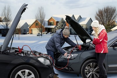 Winter is a time when cold weather proves too harsh for weak batteries to survive. (PRNewsFoto/Johnson Controls)