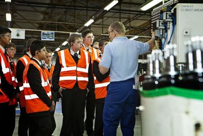 Walsall Pupils see how GKN Driveline Keeps the World Moving
