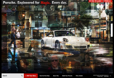 Porsche Selects Ten Aspiring Filmmakers to Participate in an 'Everyday' Film Contest.  (PRNewsFoto/Porsche Cars North America, Inc.)