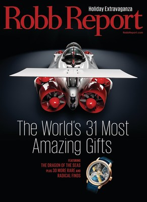 Robb Report Unveils December 2015 Issue