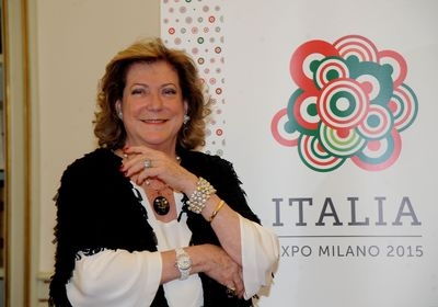 Diana Bracco, General Section Commissioner of Padiglione Italia and President of Expo 2015 SpA (PRNewsFoto/Padiglione Italia Expo 2015)