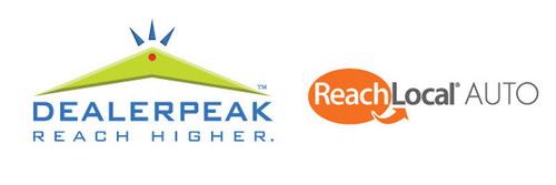 DealerPeak and ReachLocal Logo. (PRNewsFoto/DealerPeak/ReachLocal Automotive) (PRNewsFoto/DEALERPEAK_REACHLOCAL AUTOMOTIVE)