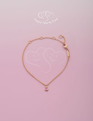 Happy Hearts Fund and Chopard partner together to rebuild schools and the lives of children after natural disasters through the sale of this special edition Happy Diamonds bracelet, available shortly at Chopard Boutiques worldwide. Learn more at www.happyheartsfund.org.