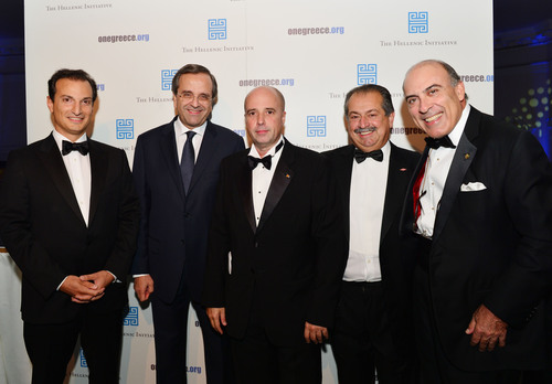The Hellenic Initiative's inaugural banquet which raised $1.9 million for Greece, featured Libra Group ...