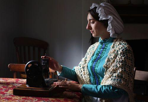 Number one most treasured item in 1890 the sewing machine (PRNewsFoto/UIA Insurance)