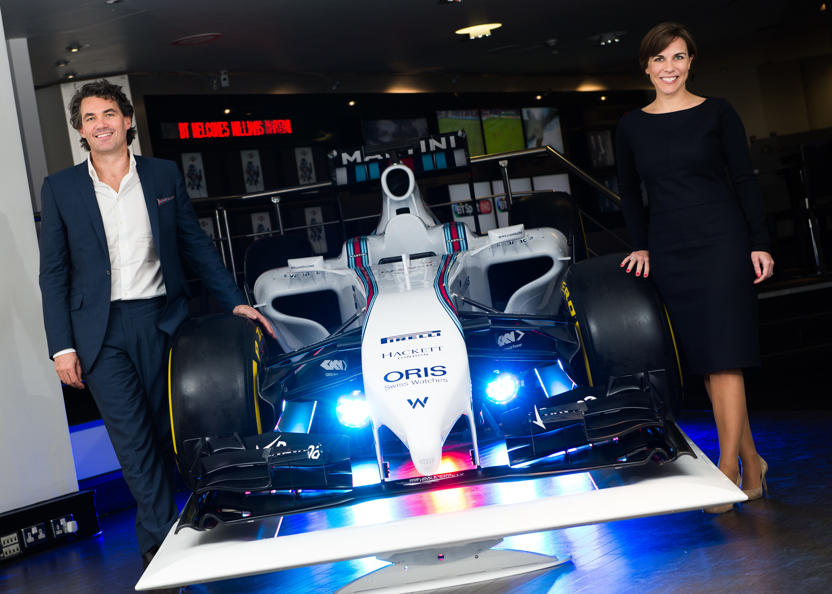 BT To Help Williams Martini Racing Accelerate Team Communications
